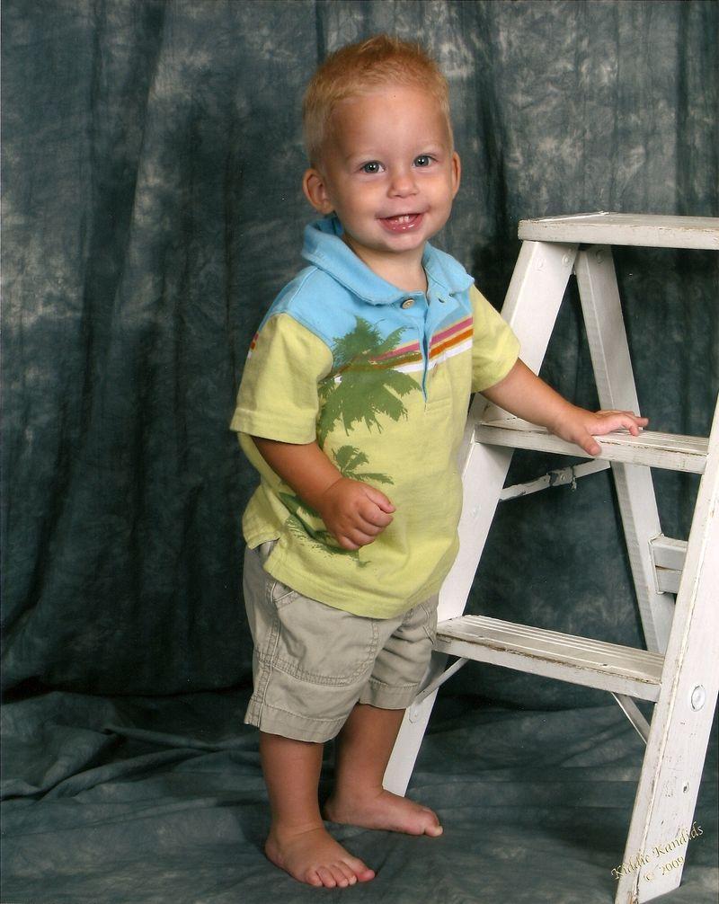 Tyler's 1 Year Pics-2