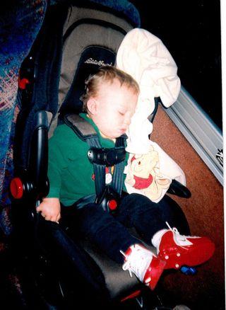 Austin asleep-osu 2005