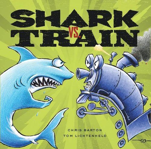 Shark+vs.+train